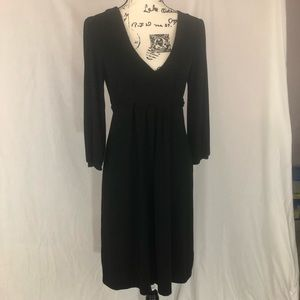 Gap black long sleeve T-shirt dress M